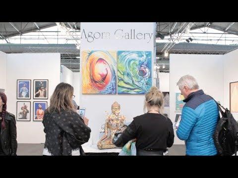 Agora Gallery at Artexpo New York, 2018