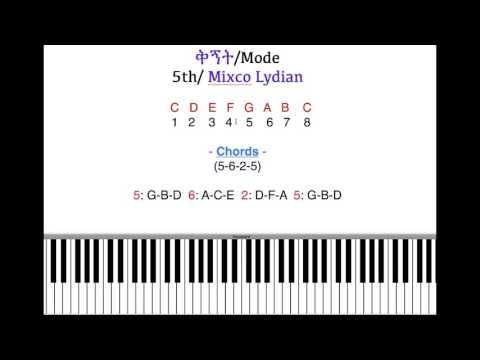 5-6-2-5 Common chords Ethiopian