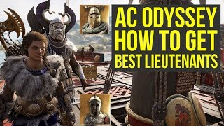 Assassin's Creed Odyssey Tips And Tricks TO GET Best Lieutenants (AC Odyssey Tips And Tricks)