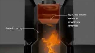 видео Печь для бани «Костёр-Сетка 21С Регистр»