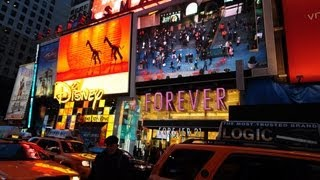 Times Square at Night - New York City 2013