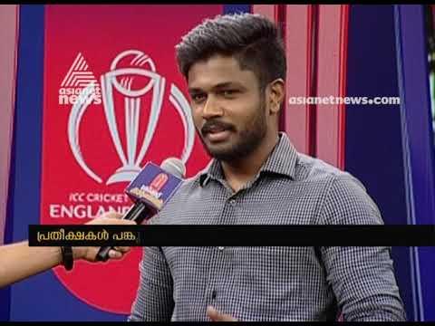 Sanju Samson to report for Asianet News - India Pakistan match