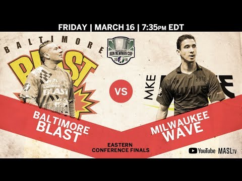 Baltimore Blast vs Milwaukee Wave