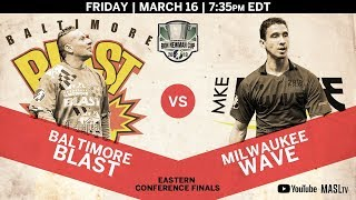 Baltimore Blast vs Milwaukee Wave