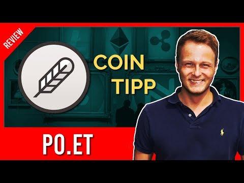 Kryptowährungen 2018 - Altcoin Tipp | UNTERSCHÄTZT: Po.et