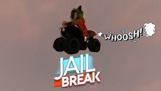 CRAZY FLYING ATV GLITCH!   Roblox Jailbreak
