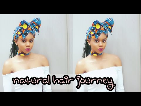 My 4c Natural Hair Journey | Broken and shot to Waist length