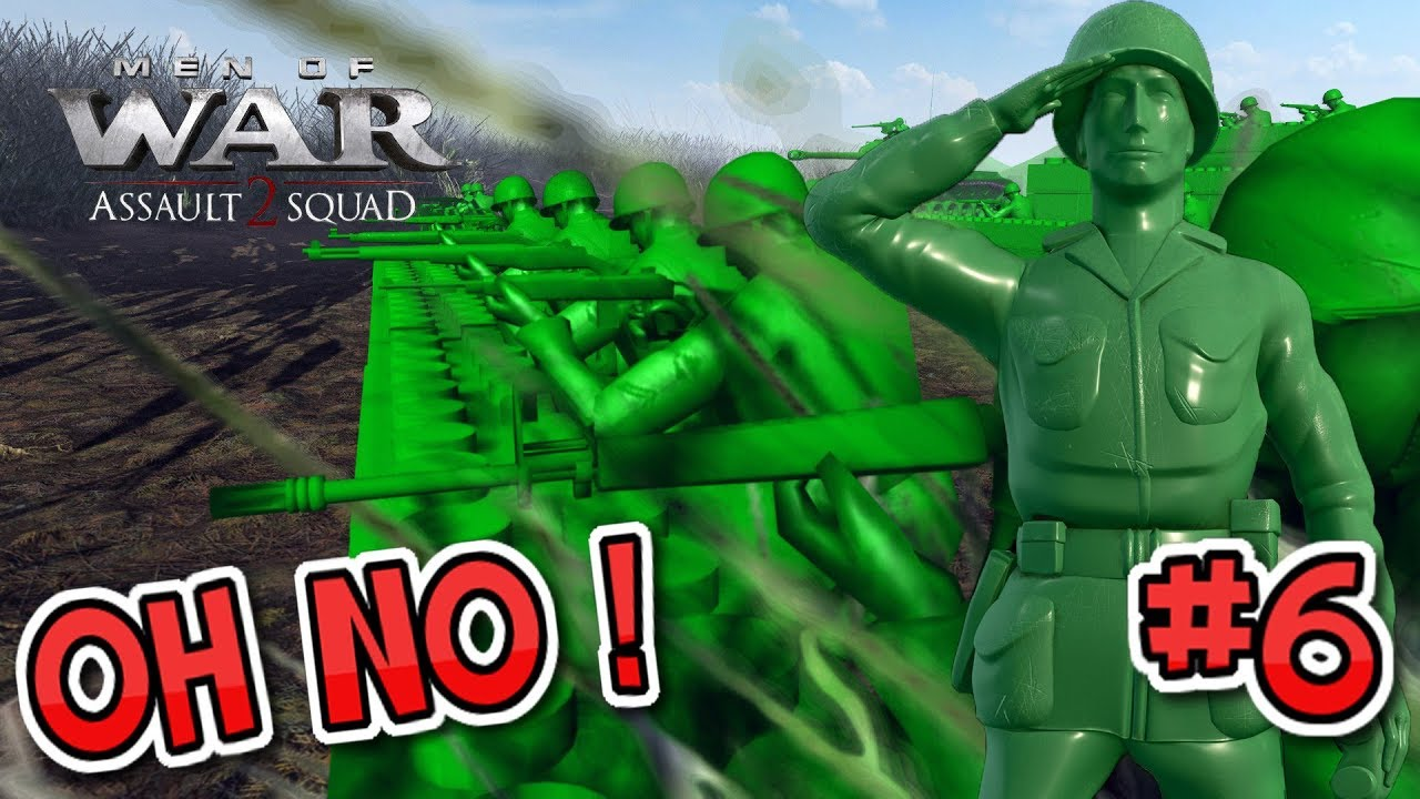 Suicidal Last Stand Army Men Of War Episode 6 The