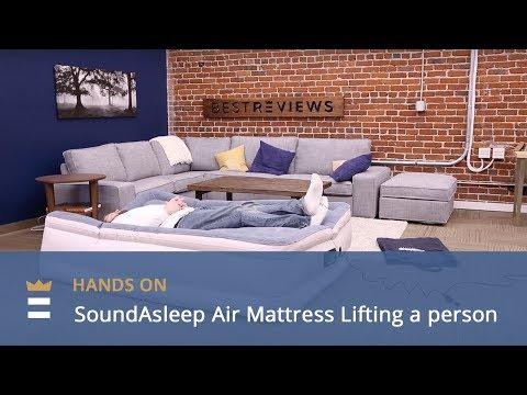 soundasleep air mattress lifting a person