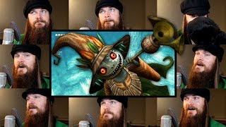 Repeat youtube video Zelda: Twilight Princess - Sacred Grove Acapella