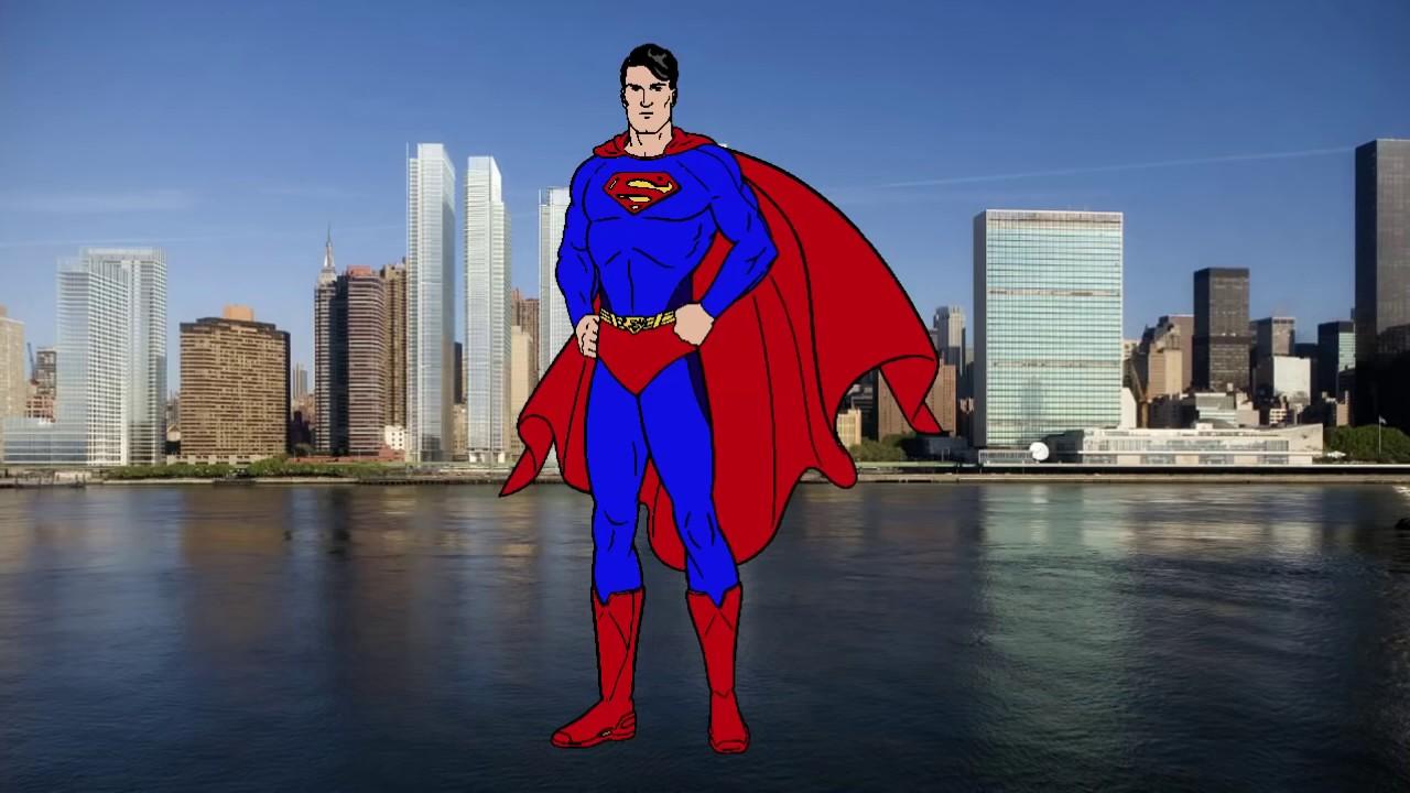 Человек паук против Супермен против Халка против Ironman ...