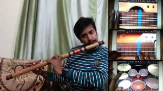 Jeena Jeena | Badlapur | Atif Aslam | Bansuri Flute Instrumental Cover by Nitish Mishra