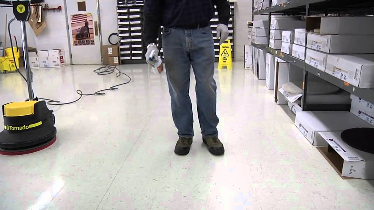 Awesome How To Buff A Floor: Spray Buffing U0026 Burnishing   YouTube