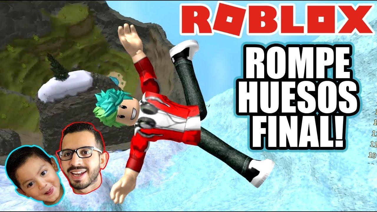 Download Me Rompo los Huesos FINAL   Salto de 999,999 Metros   Roblox Karim Juega
