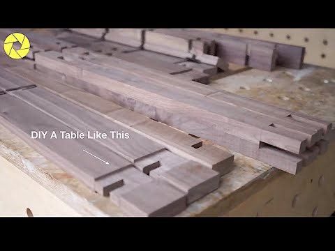 The Most Awesome Woodworking Skills And Techniques | Impossible Table