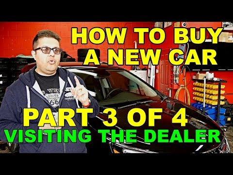HOW TO BUY A CAR – PART 3 OF 4 – (VISTING THE DEALER)