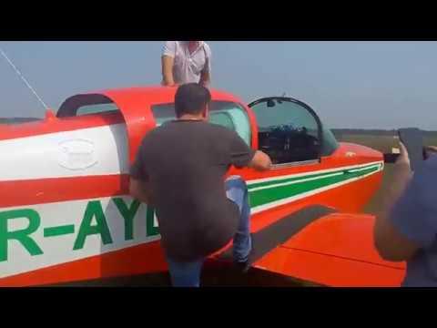 Полет на самолете Грумман в Запорожье