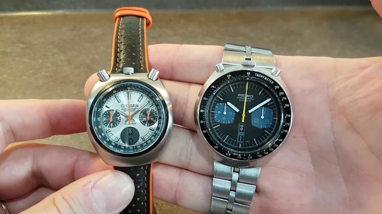 b3812431e Citizen 67-9011 vs Seiko 6138-0040 bullhead chronographs from 1976 ...