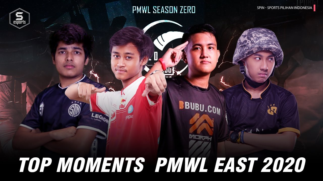 Best Moments PMWL East Luxxy begal 1 team , RRQ Beer & TSMenCLUTCHGOD ngeclutch 4 orang #INDOPRIDE!