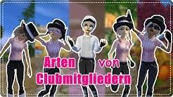 8 ARTEN von CLUBMITGLIEDERN || SSO