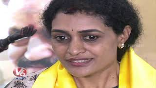 Kukatpally TDP Candidate Nandamuri Suhasini Press Meet | Telangana Assembly Polls | V6 News