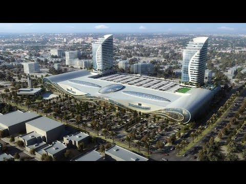 Retail Mall development Architectural & Interior CGI 3D flyt