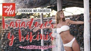 Mis bikinis y bañadores favoritos para este verano | 'Lookbook' con María Pombo