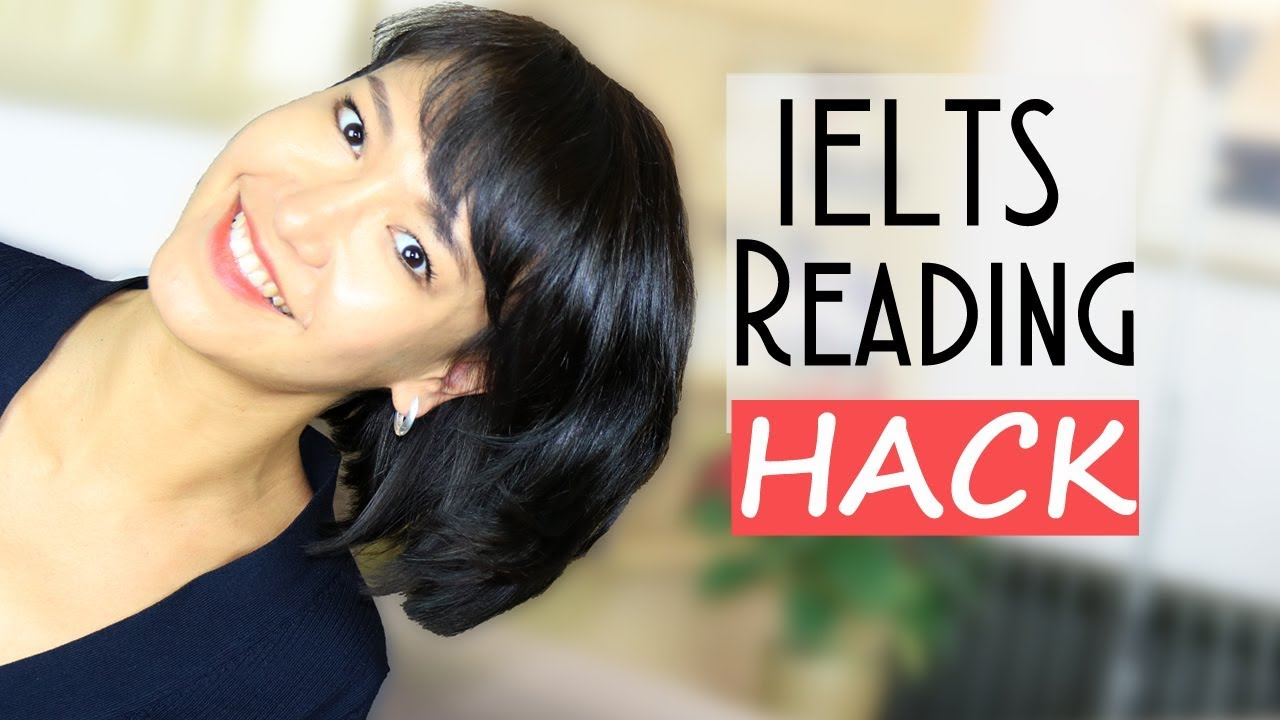 IELTS Reading HACK   How to answer questions FAST