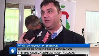 APERTURA DE SOBRES PARA LA AMPLIACIÓN Y REFUNCIONALIZACIÓN DEL HOSPITAL LOCAL