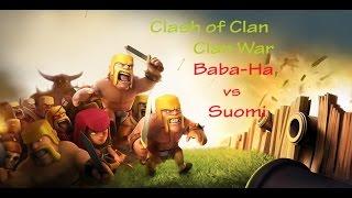 Clash of Clans ClanWar   001   Baba-Ha vs Suomi