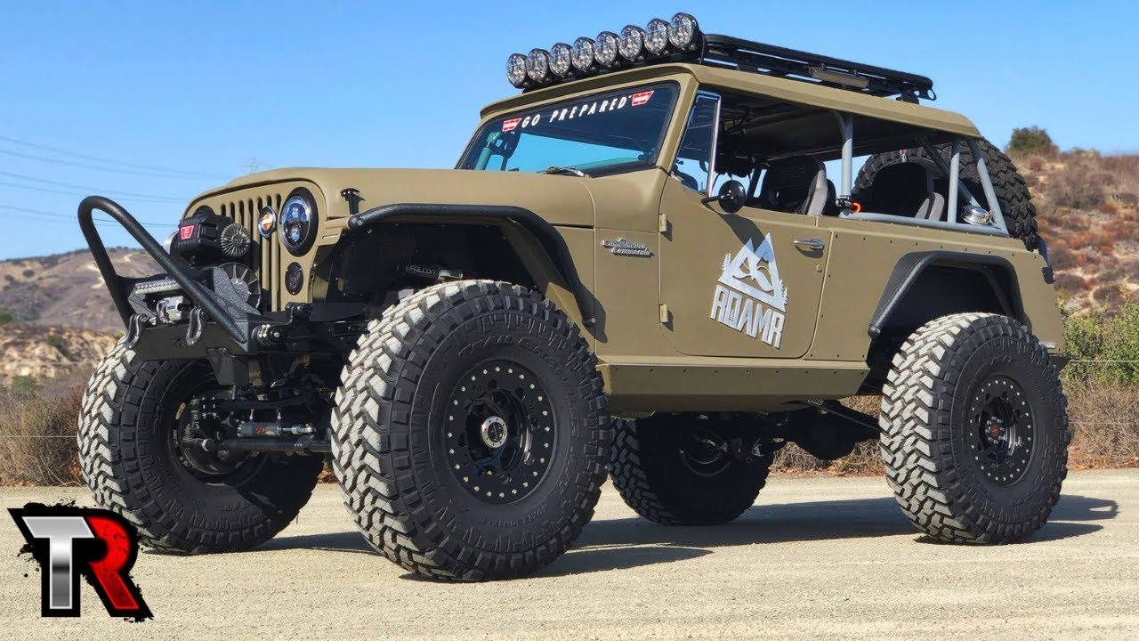 Jeepster Commando Build