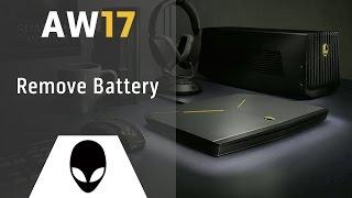 Alienware 17 R1: Remove Battery