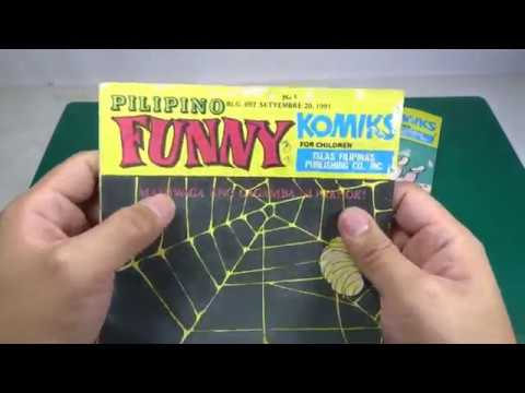 Pilipino Funny Komiks - A Blast From The Past