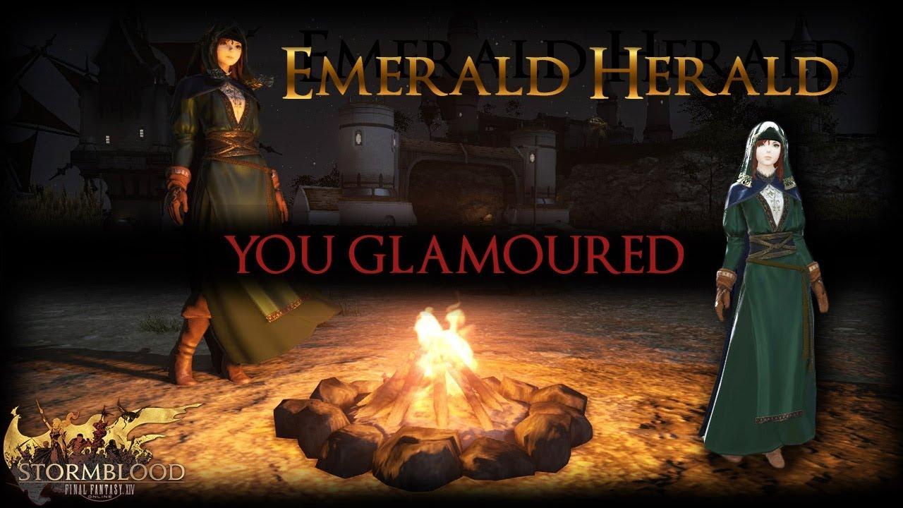 FFXIV: Emerald Herald Dark Souls Glamour! by Meoni