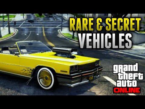GTA 5 Rare Cars - 12 Rare & Secret...