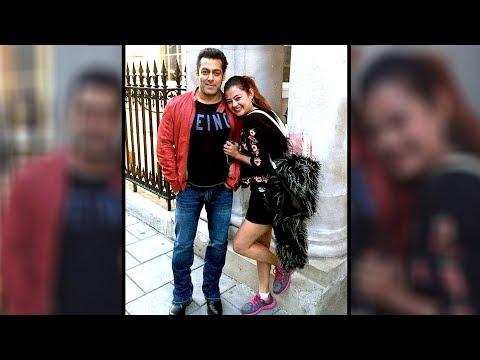 Salman Khan With Nepali Actress Sushma Karki In London