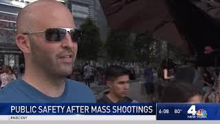 New Yorkers React to Dayton, El Paso Mass Shootings | NBC New York