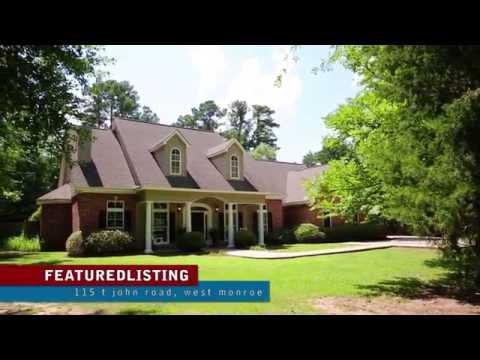 115 T John Road West Monroe, Louisiana Home for Sale