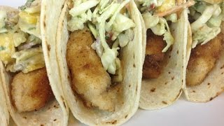 Episode 97 Fish Tacos With Avocado Mango Slaw