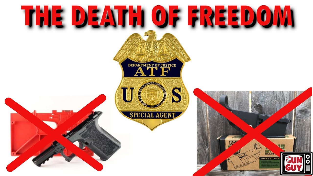 The Death of Freedom - Dan O'Kelly Talks About ATF's New Rules for 80% Lowers.