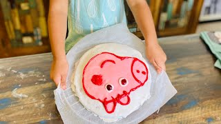 YANA BAKES FOR PEPPA  A HEALTHY CAKE RECIPE
