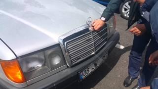 Mercedes Benz W124 250D Engine Sound 500.000 km