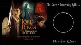 [Music box Cover] Lord of the Rings - The Shire (Concerning Hobbits)