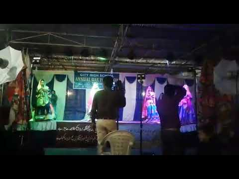 City high school Annual day function girl's Dance on 'GHOOMAR'