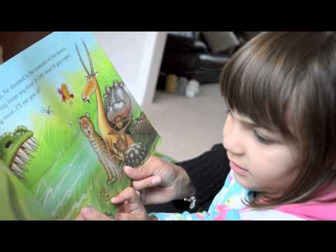 Reading a book aloud to your child