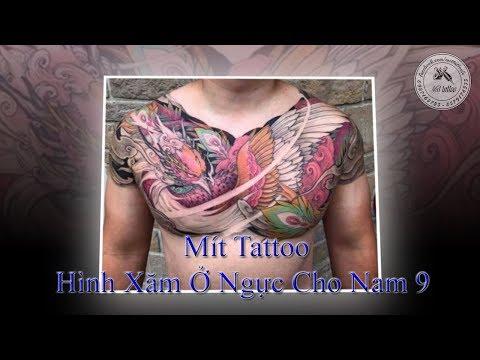 Hình Xăm Ở Ngực Cho Nam 9 - Mít Tattoo