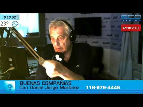 BUENAS COMPANIAS con Daniel Martinez 8-5-2018
