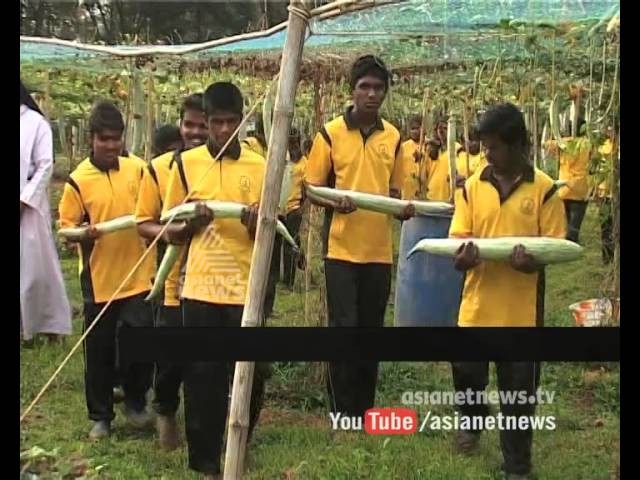Special students show farming skills :Asianet News Special