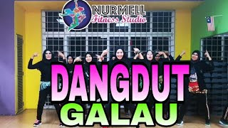Zumba Dangdut Galau by Melinda with Zin Nurul