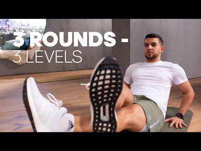 3 Rounds: Full Body Progressive Workout